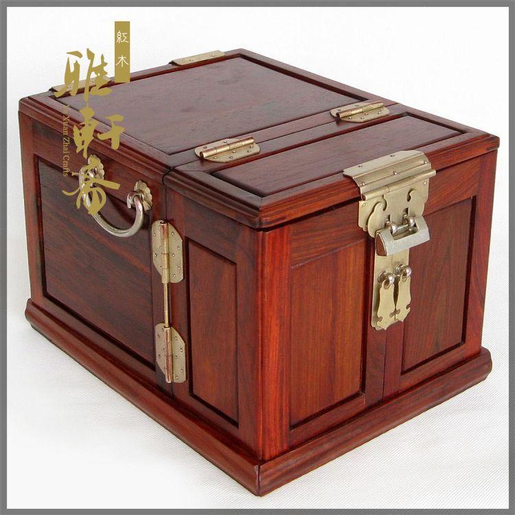 Палисандра шкатулка для драгоценностей из розового дерева высокого качества многослойный прочный деревянный ящик зеркало с медным замком