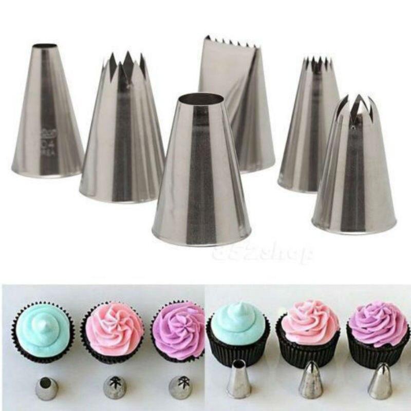16 Balloon Sugar Pipings Cupcake Decorations