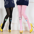 New Arrival Women Lovely Eyes Jacquard Tights Sexy Lady Silk Stockings New Fashion Pantihose Cheap Wholesale From China