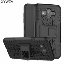 sFor Coque Samsung Galaxy J7 Duo Case Armor Rubber PC Hard Back Case For Samsung Galaxy J7 Duo Cover For Samsung J7 2018 J720 стоимость