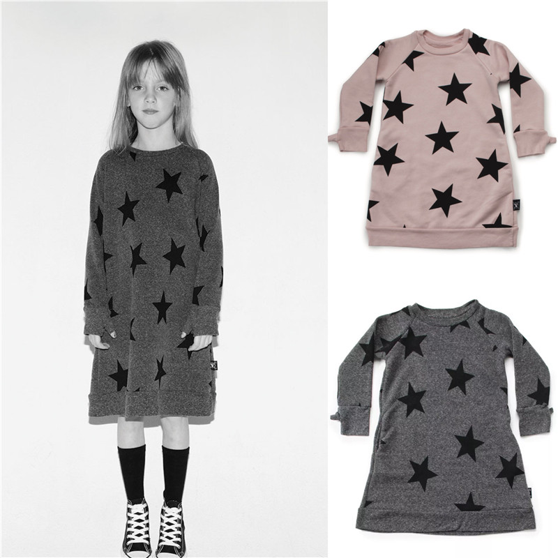 ⊰2018 primavera otoño Bebé Ropa niños BOBO CHOSES niñas vestidos ...