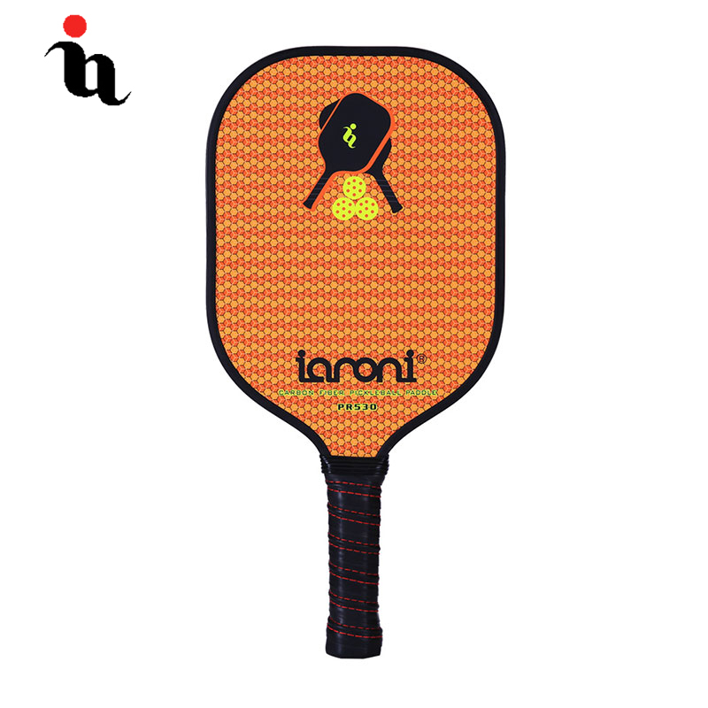 IANONI Pickleball Racket Sport Pattern Graphite Face Carbon Fiber Composition Alu Honeycomb Core High Quality Pickleball
