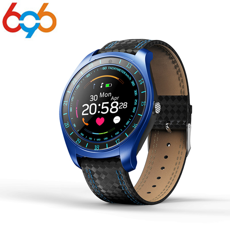 696 heart rate monitor smart watch <font><b>V10</b></font> independent support SIM /TF card resolution 240*240 1.32inch <font><b>smartwatch</b></font> for HUAWEI xiaomi image