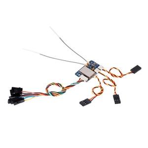 Image 5 - 1/2/5 個 flysky FS X6B fs X6B 2.4 グラム ppm i バス 6CH レシーバー用 rc quadcopter FS I6X FS i4 FS i6 FS i6S トランスミッタ