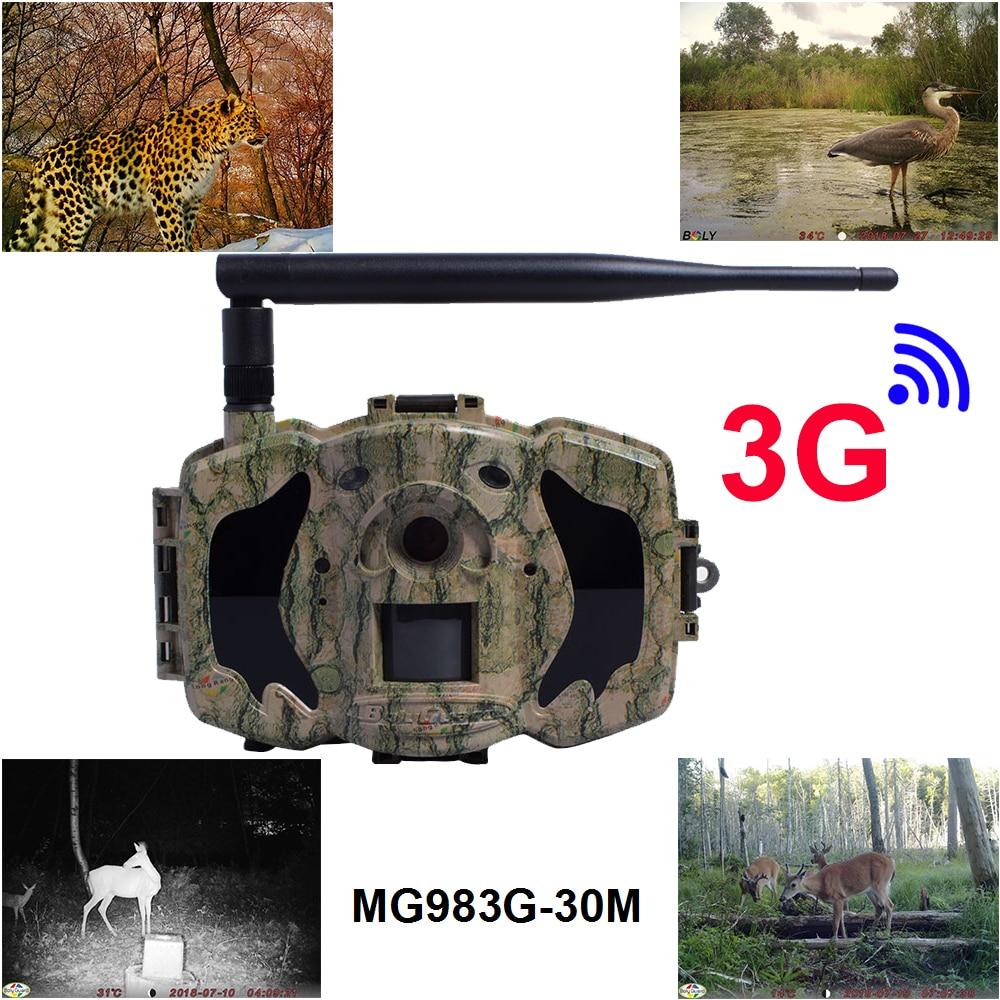 3g jeu chasse caméras 940nm 100 ft photo piège caméras 30MP GPRS et MMS cellulaire BolyGuard gsm caméra pour chasse