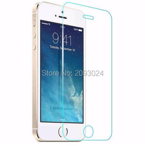 Front Glass On The For IPhone 5s 4s SE Tempered Screen Protector For IPhone 6s 6plus For Iphone 7 8 For Iphone 7plus Glass Guard