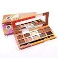 10 Cores Smoky Eyeshadow Palette Maquiagem Para As Mulheres Olho maquiagem Terra Shimmer Matte sombra Cosméticos Set Kit