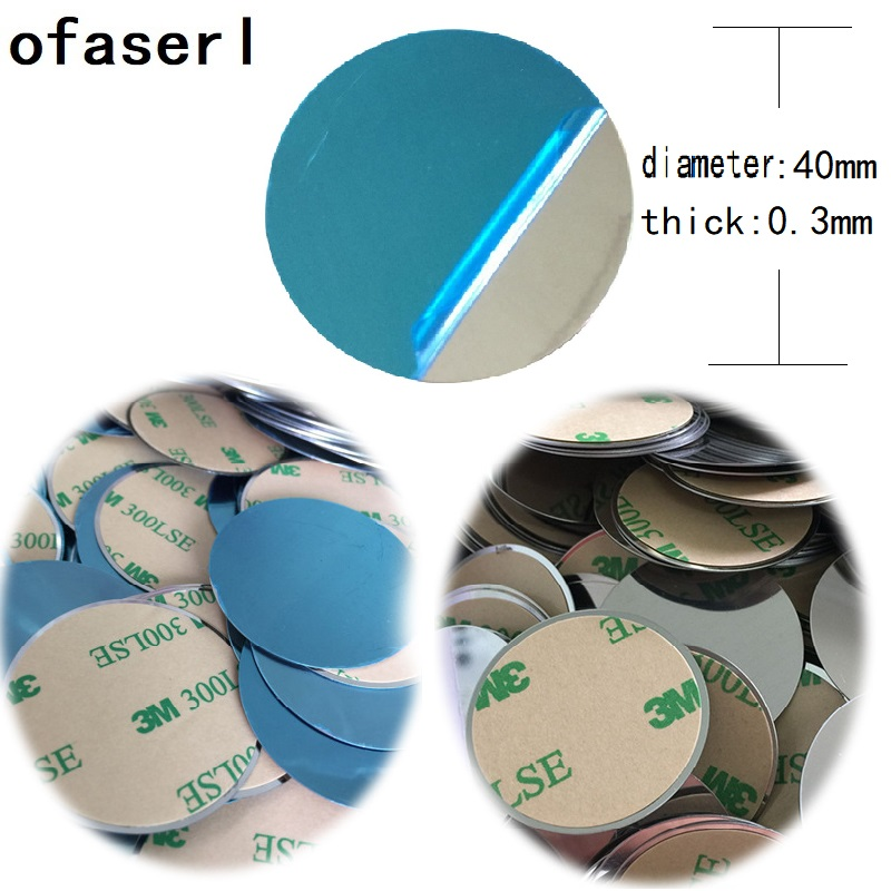 Ofaserl 40x0.3mm 30x0.3mm Metal Plate Disk Iron Sheet For Magnet Mobile Phone Holder For Magnetic Car Phone Stand Holders Free