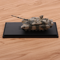 1:72 Simulation Russian T 90MS Main Battle Tank Kits Military Vehicle Model