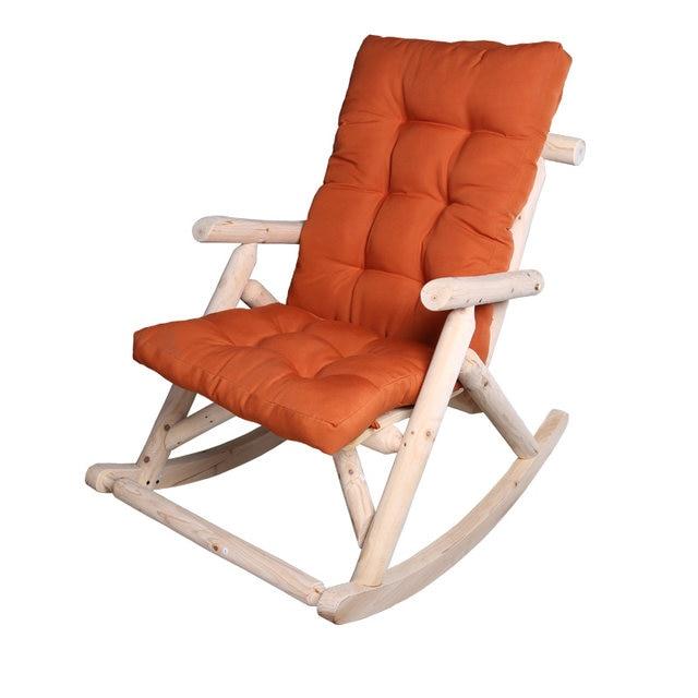 Moderne Massivholz Schaukel Stuhl Antike/Natürliche Outdoor Möbel Garten  Stuhl Holz Terrasse Garten Vintage Schaukel Sessel