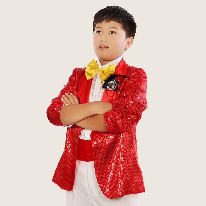 ФОТО Moderator boy student dress. Chorus Performance Costume Children's Performance. Sequins. Suit suit