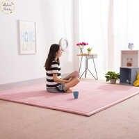 Infant Shining Home Carpet Coral Fleece Rug 2CM Thickness Tatami Carpet 180X200CM Living Room Rug Bedroom Mat Baby Play Mat