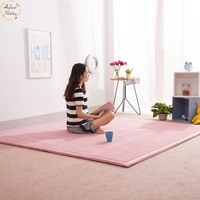 Infant Shining Home Carpet Coral Fleece Rug 2CM Thickness Tatami Carpet 180X200CM Living Room Rug Bedroom Mat Baby Play Mat