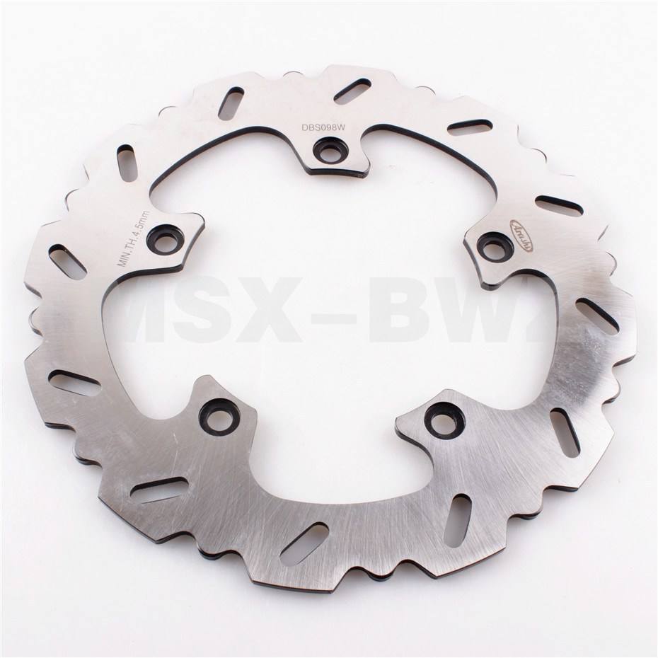 Rear Brake Disc Rotor Fit BMW R1200GS 13-15 R1200RS 15 16 R1200RT 14-15 R1200 2013 2014 2015 for cadillac ats full add on style carbon fiber mirror covers 2014 2015