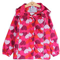 2017 New Spring Autumn Fashion Baby Girls Jacket Coat Children Outerwear Clothing Kids Girls Warm Coat 3-7 Years Old