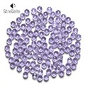 Czech Seed Rondelle Beads 100pcs/lot 3x4mm Faceted Crystal DIY Jewelry Faceted 5040 Glass Crystal Beads Spacer