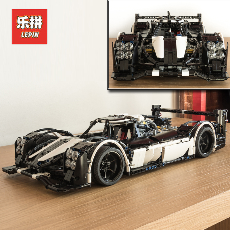 2018 New Lepin 23018 2207Pcs Technic Figure MOC 5530 Hybrid Super Racing Car Set Model Building Kits Blocks Bricks Boy Toys Gift lepin 21010 914pcs technic super racing car series the red truck car styling set educational building blocks bricks toys 75913