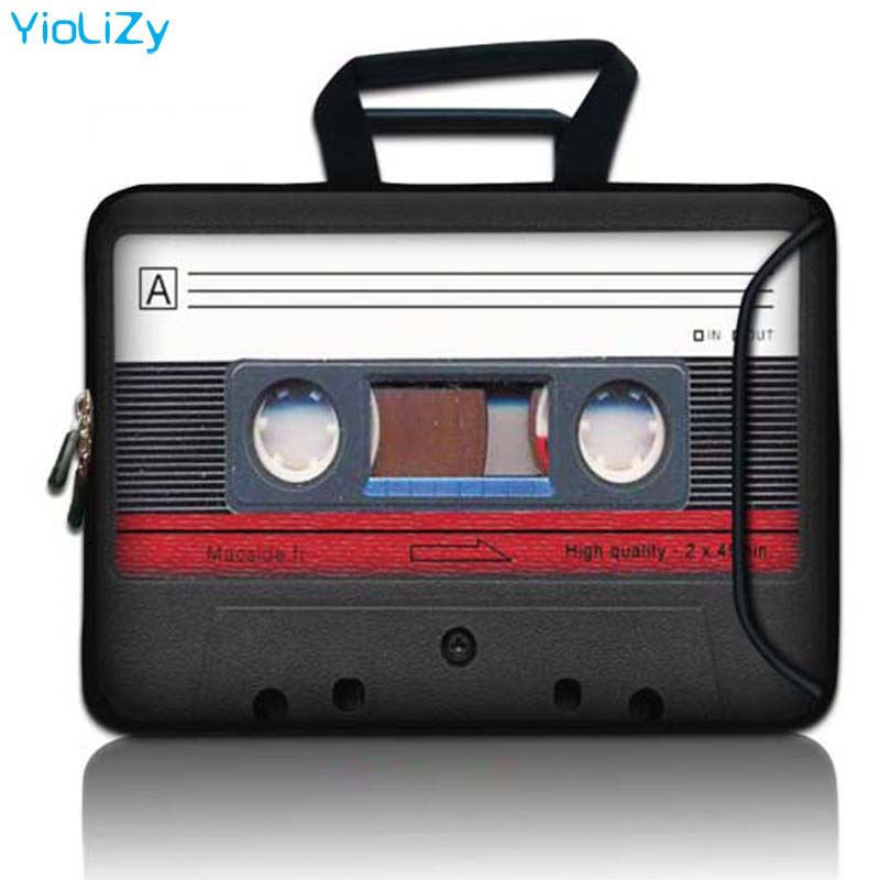 9.7 11.6 13.3 14 15 15.4 15.6 17 17.3 polegada portátil maleta tablet saco capa de manga notebook com bolso bolsa feminina SBP-23963