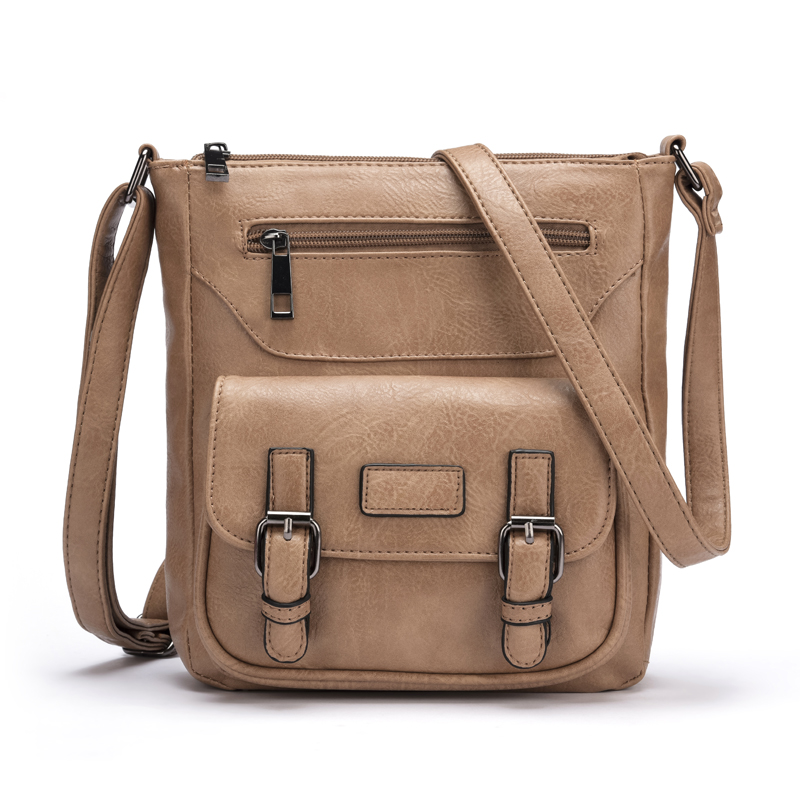 2018 new fashion crossbody bags women messenger bag brand designer PU leather female bolsa feminina purse handbag shoulder bag new fashion women bags women s solid pu leather handbags cross body shoulder bags female vintage messenger bag bolsa feminina