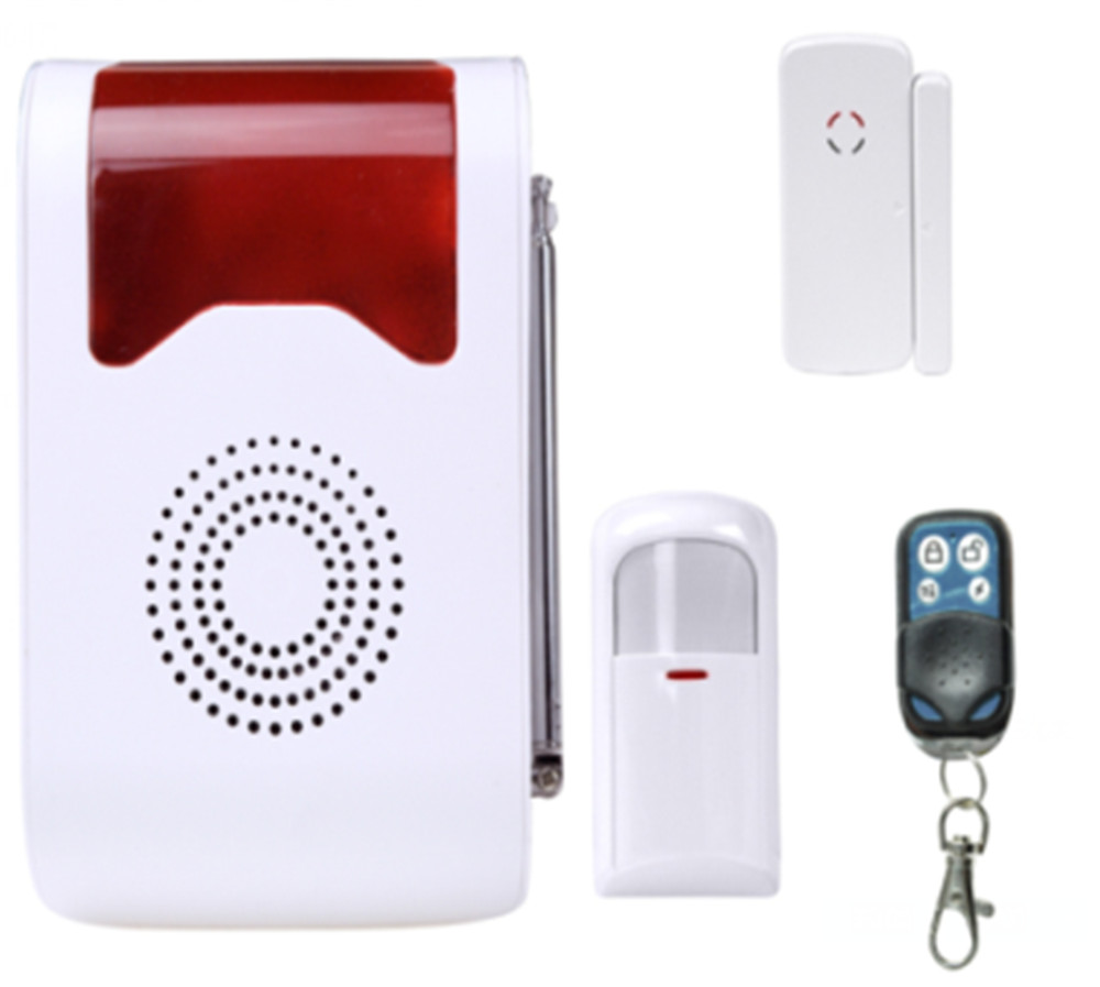 433Mhz Wireless Voice acousto-optic Site Alarm Burglar Alarm System site forumklassika ru куплю баян юпитер
