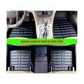 Для Audi Q5 2009-2016 левый руль FLY5D Автомобиль Коврики Спереди и Сзади Авто Пыли Водонепроницаемый Мат XPE кожа