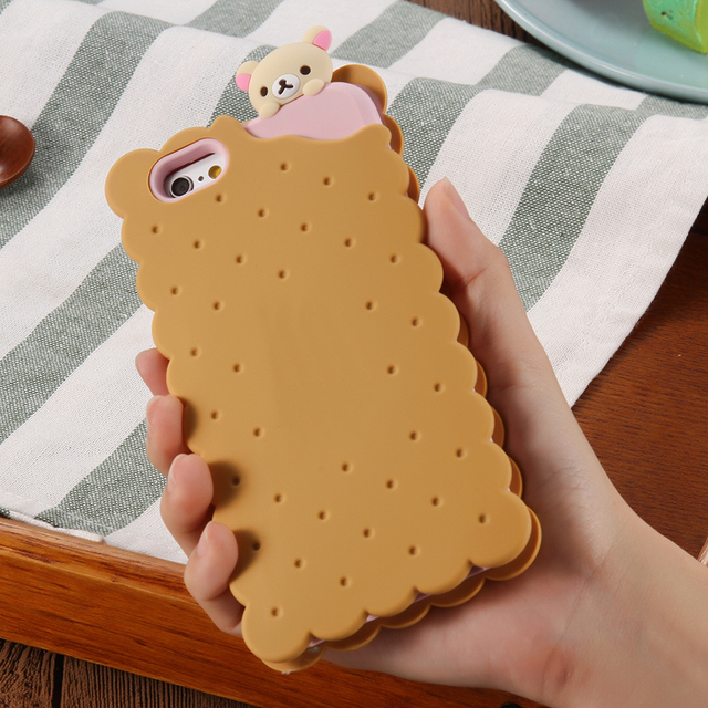Case Iphone 5/5S/6/6S/6Plus/6SPlus Biscuit 3 kolory