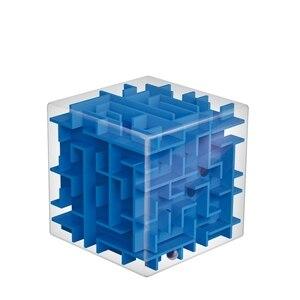 Image 2 - Mini laberinto de cubo de velocidad 3D para niños y adultos, juego de rompecabezas, Cubos mágicos, juguetes de aprendizaje, laberinto con bola que rueda, AQ1563