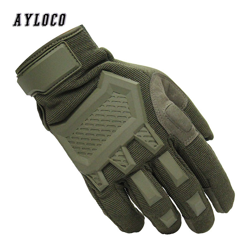 Touch Screen Tactical Gloves Men Sports Military Special Forces Full Finger Gloves Antiskid Bicycle Gloves Wearable Gym Gloves