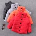 Niño wadded chaqueta chaqueta de algodón acolchado engrosamiento ropa térmica chaqueta masculina de algodón acolchado de invierno niño prendas de vestir exteriores