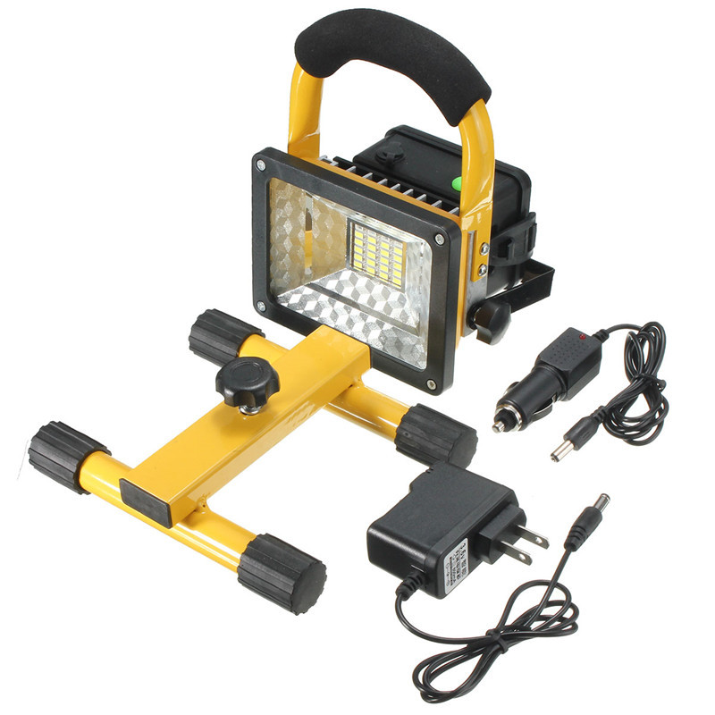 30W 24LED Portable Outdoor Lights Rechargeable Warning lamp Outdoor camping Flood Light LED Work Trouble Lamp Universal