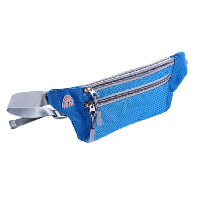Hot Sale Waterproof Multifunction Running Waist Bag Sport Packs For Music With Headset Hole-Fits Smartphones