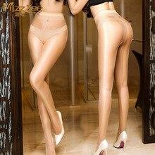 Sexy Shiny Transparent Oil Stocking Pantyhose