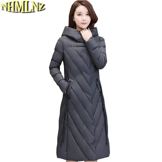 Femme Veste Chaud Laine À Tn033 Femmes Nouvelle Mode Long Coton Grande Parkas D'hiver En Capuche Taille n0m8Nw