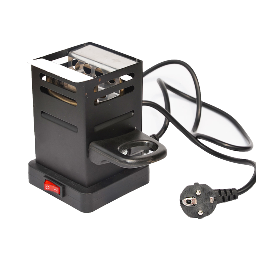 Hot Sale Black Shisha Hookah Charcoal Stove Heater Coal Burner Hot Plate Chicha Narguile Accessories EU Plug 220v/50v 600w J05