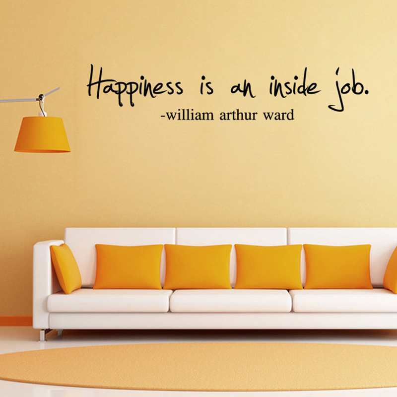 Enchanting Living Room Wall Quote Decals Collection - Wall Art ...