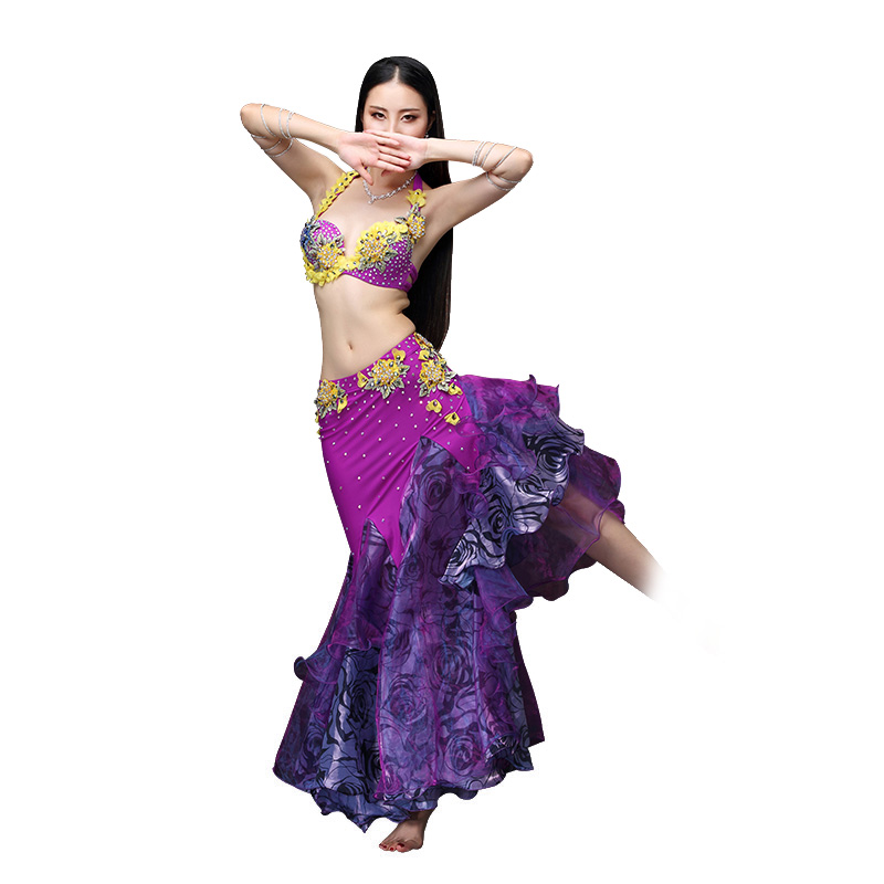 Rendimiento ATS 2018 mujeres ropa de danza del vientre traje gitano ...