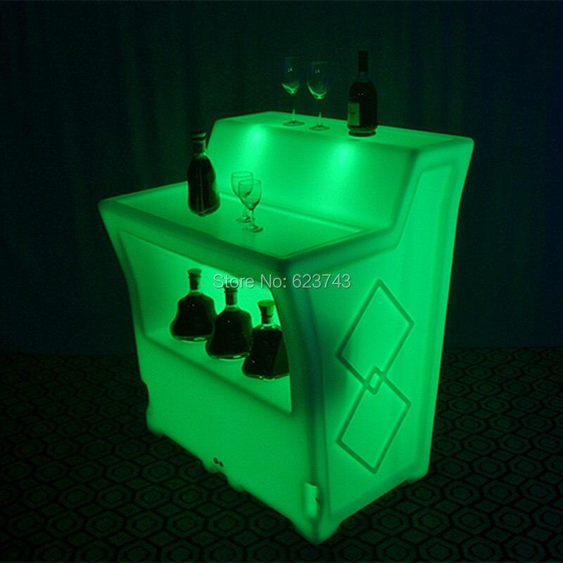 LED BAR Lumineux Table 4