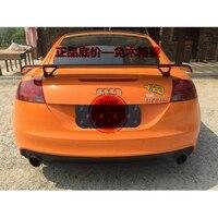 Carbon Fiber / FRP Universal Style Rear Trunk Wing Spoiler for Audi A3 S3 A4 A5 A6 A7 TT Tail Boot Lip Wing Spoiler
