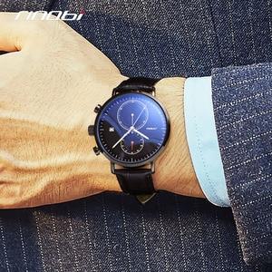 Image 2 - SINOBI 2020 New Multifunction Men Watch Fashion DIY Luminous Quartz Watch For Men Male Casual Sport Chronograph Stop Watch Clock