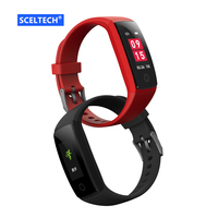 2018 Color Smart Wristband V10 Fitness Bracelet Heart Rate Monitor Acitivity Tracker Pedometer Blood Pressure Smartband