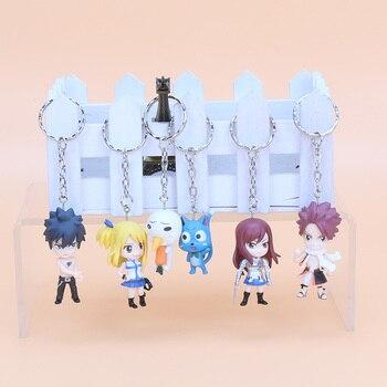Set de figuras/llaveros 6 personajes de Fairy Tail Fairy Tail Figuras