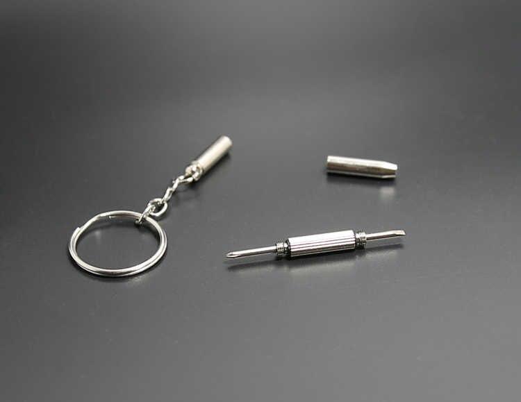 Новая мода многофункциональный открытый Комбинации инструмент Отвертка Портативный мини карман многофункциональный брелок для ключей