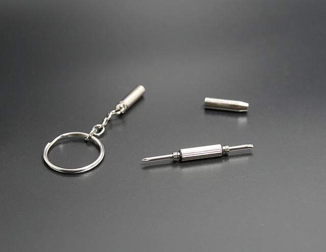 Mini Screwdriver Metal Keychain