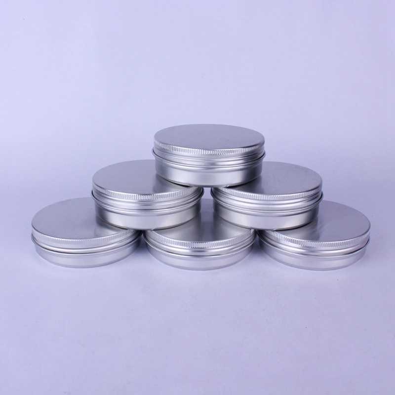Sedorate 20 ชิ้น/ล็อต 100 มิลลิลิตรขวดอลูมิเนียมสำหรับ hair Wax รอบขวด USB Flash Disk ภาชนะบรรจุ 100 กรัมอลูมิเนียม MC4743