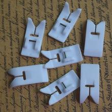 Prensatelas para Brother Singer, accesorio universal para máquina de coser doméstica de caña baja, 5 uds.