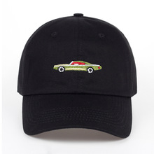 2019 hot sales Cute Car Embroidered Baseball Cap Men And Women Couple Lovers Cotton Hat Adjustable Casual Cap цена