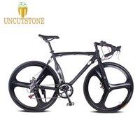 Дорожный велосипед с фиксированной передачей Велосипед 52 см рама из магниевого сплава raod велосипед 14 скорость Дорожный алюминиевый сплав