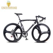 road bike Fixed gear bike 52cm  frame Magnesium Alloy raod bicycle 14 speed Road Bike Aluminum Alloy frameType