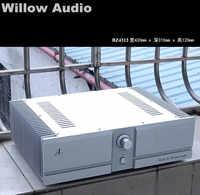 BZ4312A2 Серебряный Полный алюминиевый усилитель шасси коробка amp DIY чехол 430*310*120
