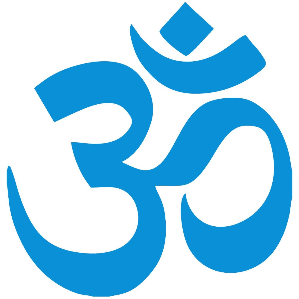 Aum om symbol hinduism spiritual wall car decal sticker highest aum om symbol hinduism spiritual wall car decal sticker highest quality factory sale directly stickers muraux wall art d447 in wall stickers from home buycottarizona